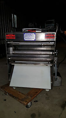 Acme Model MRS-11 Countertop Pizza Press Dough Roller Machine Double Pass