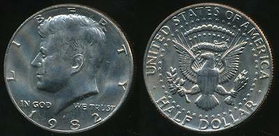 United States, 1982-P Half Dollar, Kennedy - Uncirculated