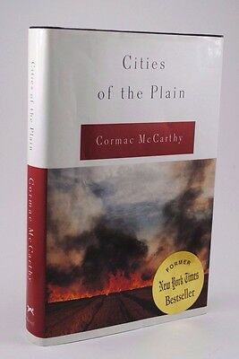 Cities of the Plain by Cormac McCarthy (HC w/DJ, Stated 1st Edition, 1998)
