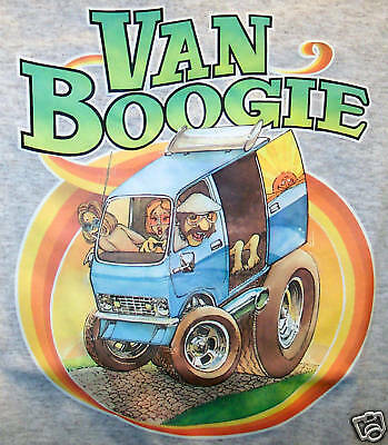 70's Dodge Van Boogie Vintage 70's NOS t-shirt   Small, Medium, Large or XL   R