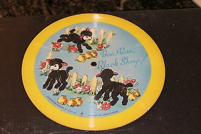 VOCO 1948 Childrens Picture Record Mothers Little Helper & Baa Baa Black Sheep