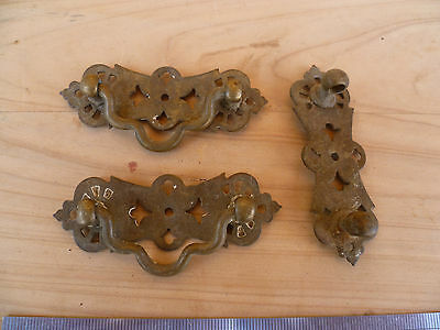 Antique Old Brass Drawer Handle's Lot 3, No.6