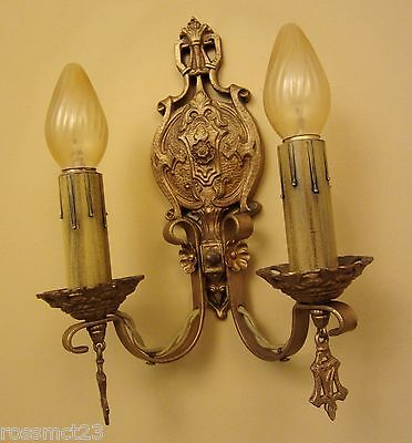 Vintage Sconces four matching 1920s wall lights