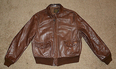 Reproduction A-2 Leather Flight Jacket