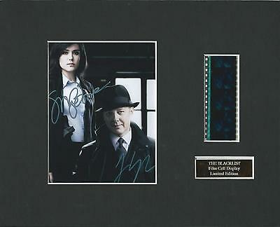 The Blacklist Film Cell Display Limited Edition Very Rare