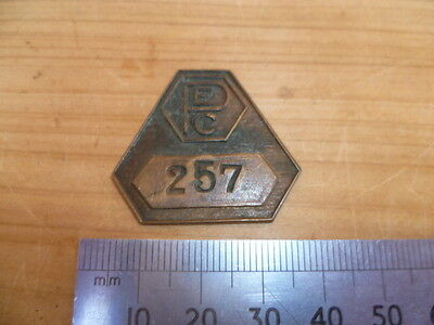 Vintage Old P.e.c Adelaide Badge, Pin, (B960)