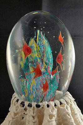 """Angel Fish Paperweight Dynasty Gallery Heirloom Collectibles 5"""""""