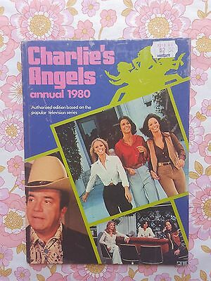 CHARLIE'S ANGELS ANNUAL 1980 book tv show Jaclyn Smith Kate Jackson Cheryl Ladd