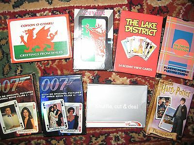 playing cards , various themes X8