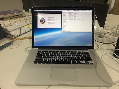 "Apple MacBook Pro 15"" Laptop with Retina Display - 16GB RAM 1TB (Late 2013)"
