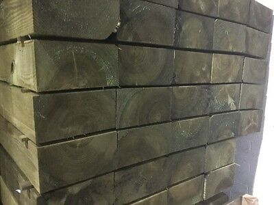 *limted offer* wooden railway sleepers pressure treated