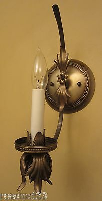 Vintage Lighting two matching 1960s Hollywood Regency sconces