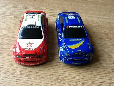 Hornby Scalextric Cars x 2  ( two cars  )