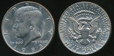 United States, 1983-D Half Dollar, Kennedy - Uncirculated