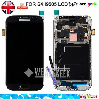 For Samsung S4 I9505 LCD Display Digitizer Touch screen Front Glass Replacement