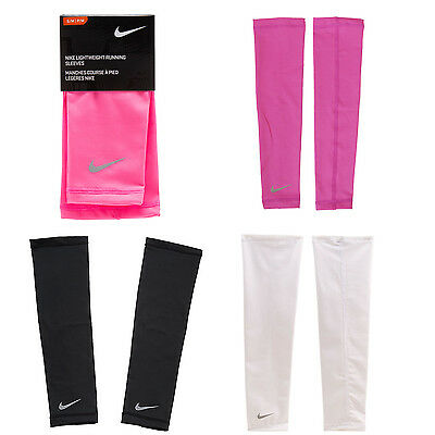 Nike Lightweight Running Compression Protector ARM Sleeves Sports 1PAIR AC3397