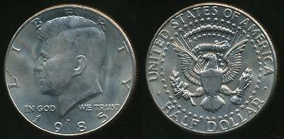 United States, 1985-P Half Dollar, Kennedy - Uncirculated