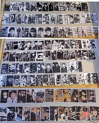 Vtg Beatles Trading Cards Series 1-3, Diary, Hard Days Nite, Color Ser-118 Cards