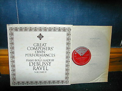 GMA 79 great composers own performances vol 2  LP  ED1 Grooved