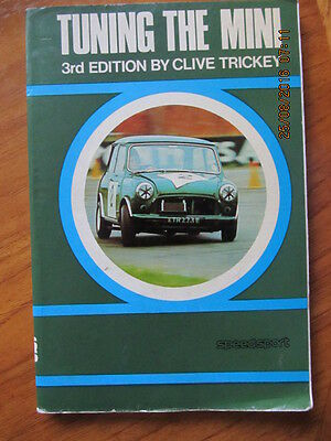 Clive Trickey book,Tuning the Mini,3rd edition,1972.