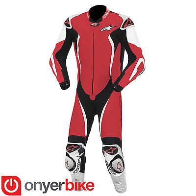 Alpinestars GP Tech Suit One 1 Piece Leather Motorcycle Motorbike Race Suit SALE