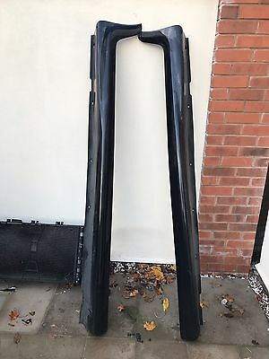 Vauxhall Astra H Mk5 VXR 3 DOOR SIDE SKIRTS PAIR GENUINE BLACK