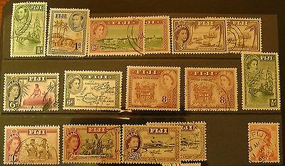 Collection of stamps from Fiji- F.Used, MNH, MM.