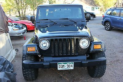 2005 Jeep Wrangler X-Sport 2005 Jeep Wrangler W/ Hard Top and Oversize Tires