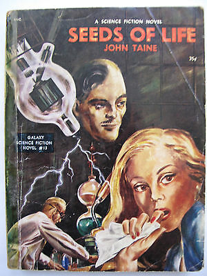 """GALAXY SCIENCE FICTION NOVEL No. 13 - """"Seeds of Life """" by John Taine"""