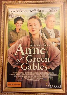 Promotional Movie Flyer For Anne Of Green Gables