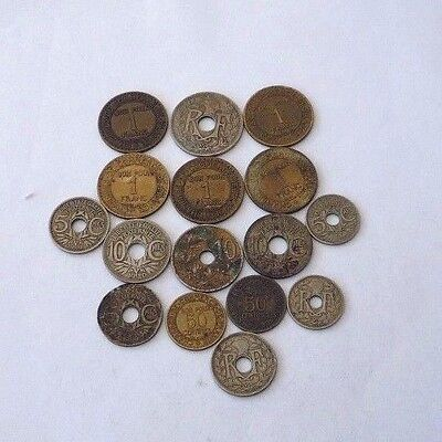 FRANCE - COLLECTION / BULK / JOB LOT COINS - FROM 1920,s - REF330