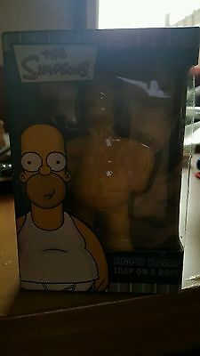 The Simpsons Simply Homer Scented Soap on a Rop