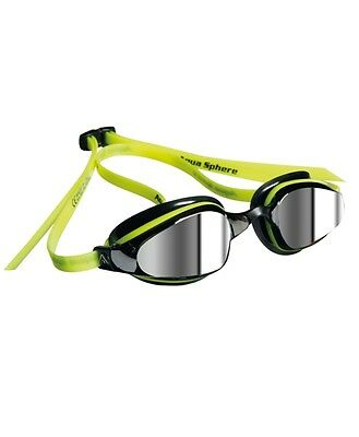 Aqua Sphere K180 Mirrored Goggles - Choice of Colour - Free Next Day Delivery
