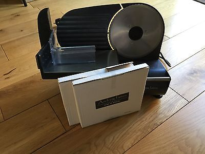 Electric Slicer Precision Meat Ham Bread stainless Steel Blades Food Kitchen