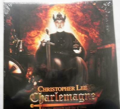 Christopher Lee Charlemagne By The Sword & The Cross 2 LP RSD 2016 New & Sealed
