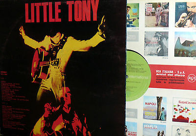 Little Tony  Lp Same Omonimo   '74  Italy  Rca International