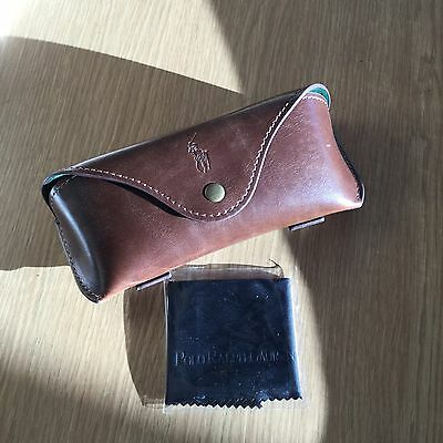 Polo Ralph Lauren Leather Effect Soft Spectacle Case