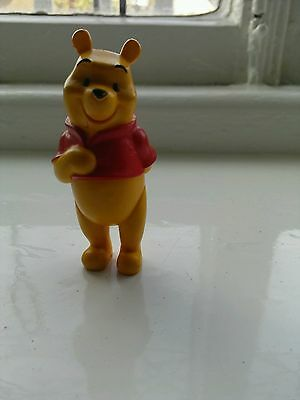"""Disney Winnie The Pooh Plastic Figure  3""""  Collectable Toy"""