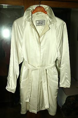 Gianni Versace vintage trench 80s 90s silk & cachemire