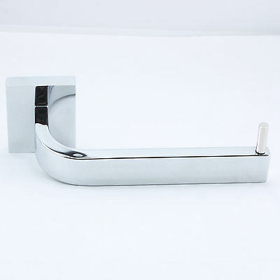 Toilet Paper Roll Holder Stainless Steel Hook Solid Hanger Chrome Wall Mount NEW