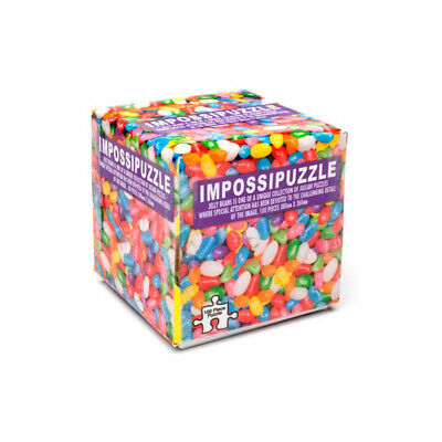 Impossipuzzle Cube Bonbons Jelly Beans, Cadeau Insolite - Neuf