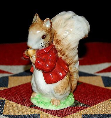 BESWICK BEATRIX POTTER TIMMY TIPTOES FIGURINE 1955-72 BP2a GOLD OVAL