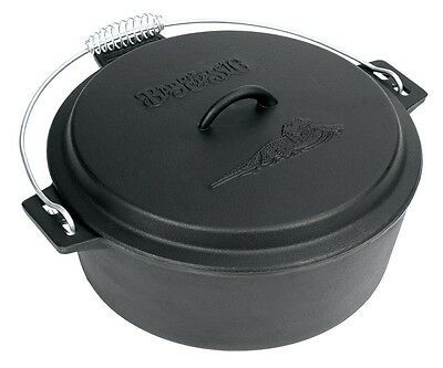 Deer Camp 10-Qt. Dutch Oven with Lid