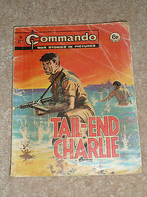 Tail-End Charlie No. 811 - Commando War Stories in Pictures 1974