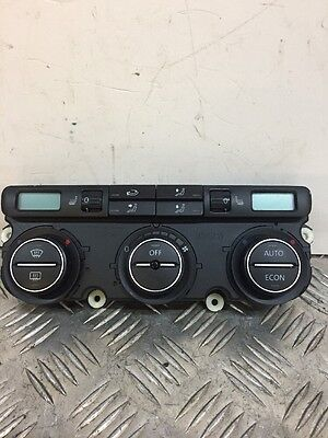 VW Golf MK5 Climate Control Heater Air Con Switch Panel With Heated Seats
