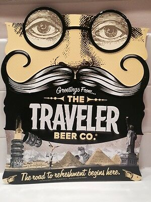 The Traveler Beer Co. Tin Sign!!!