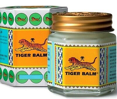 4 x 30g Tiger Balm White pain relief muscle ointment massage rub free shipping