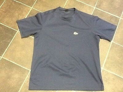 Men's Lowe Alpine T Shirt, Fitness Shirt, size Large