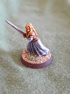 Warhammer GW LOTR Lord of the Rings Eowyn painted metal