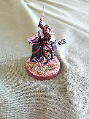 Warhammer GW LOTR Lord of the Rings Eomer on horse painted metal